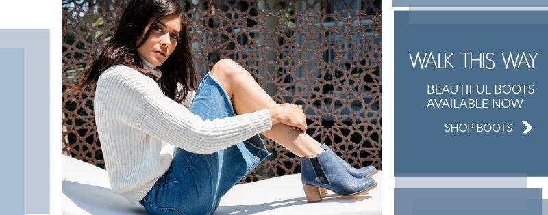 blue boots website banner